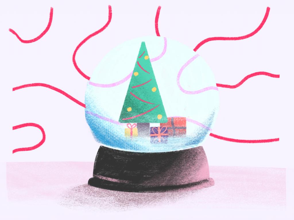 Christmas globe gifts