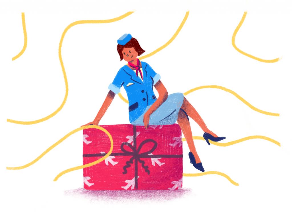 flight attendant gift
